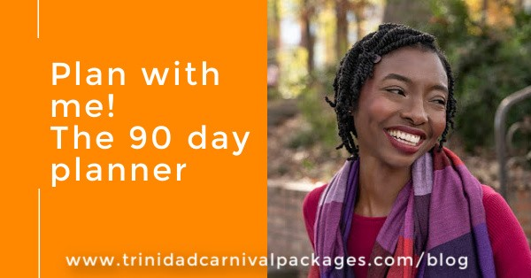 Plan with me!  The 90 day planner