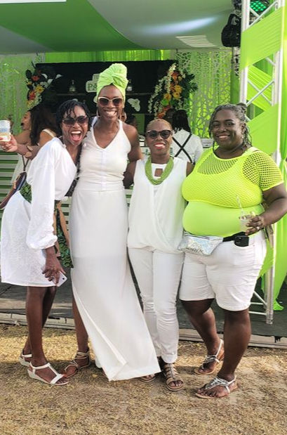 Trinidad Carnival Lime at the Hyatt group