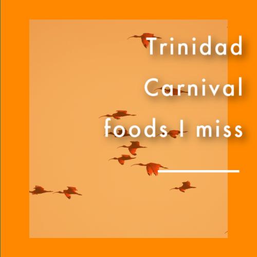 Trinidad carnival food 2